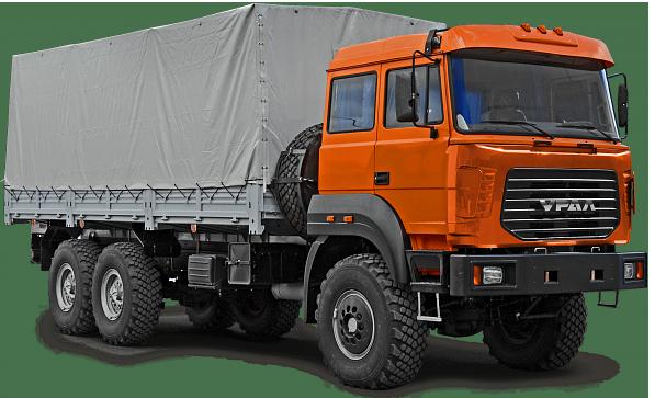 Бортовой автомобиль Урал 4320-80/82 6×6