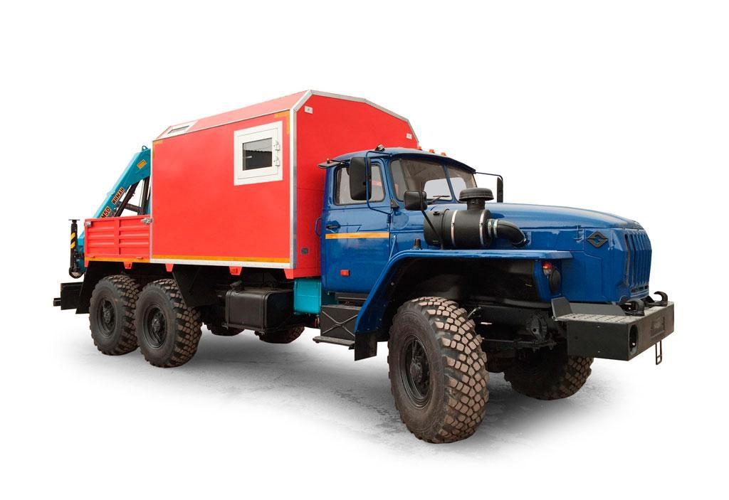 Передвижная авторемонтная мастерская (ПАРМ универсальный) на шасси Урал 4320-1112-61