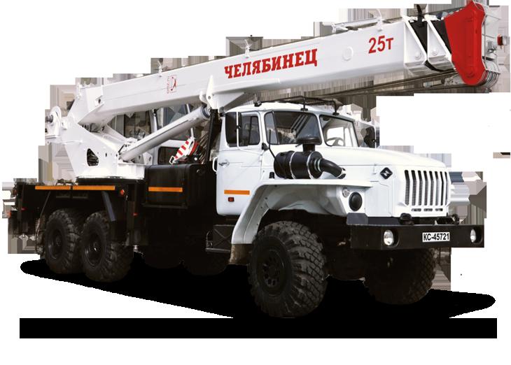 Автокран КС-45721 Челябинец 25т
